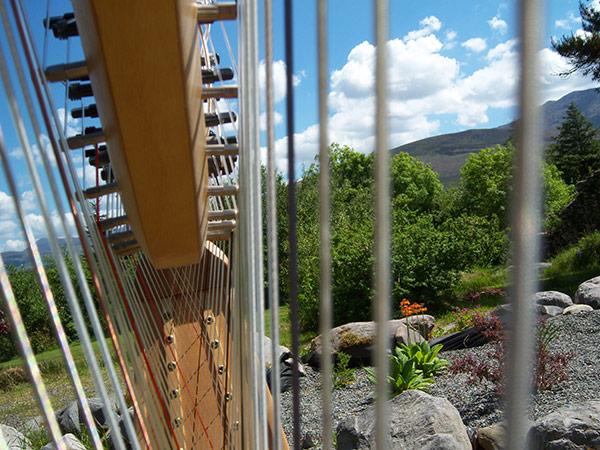 inside harp landscape